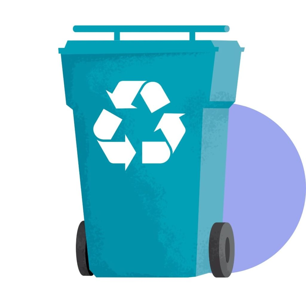 This material does not go in the blue bin. Find out where to dispose of it,