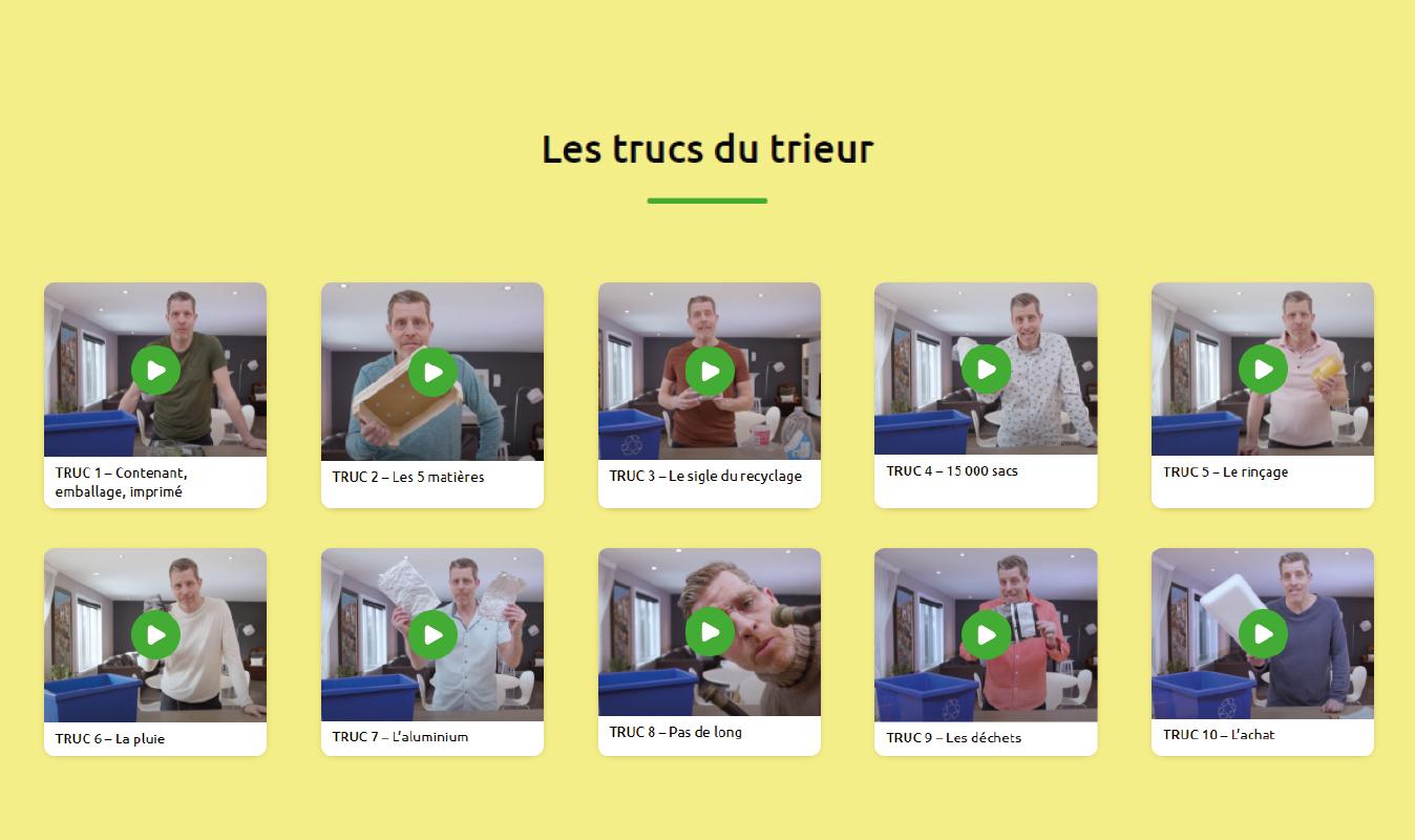La MRC de Vaudreuil-Soulanges lance les «Trucs du trieur» pour un meilleur tri des matières recyclables